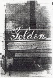 Closed Golden Theatre From the Golden Transcript, 1972