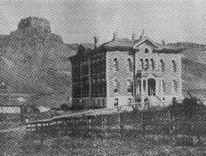 Jefferson County Courthouse - 19th Century Photo courtesy Golden Historical Collection, Richard A. Ronzio Collection
