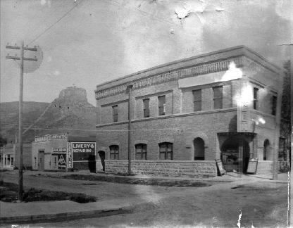 Gem Theatre - c.1915 Photo courtesy Ryland Collection, Gardner Family Collection