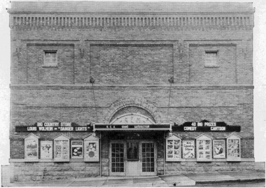 Golden Gem Theatre, 1932 From advertisement in the Colorado School of Mines Prospector Yearbook, 1932