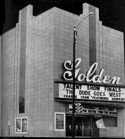 Golden Theatre, 1949 As seen in advertisement by the Denver Terra Cotta Company Photo courtesy Gardner Family Collection